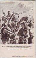 A TOLBIAC CLOVIS VOYANT SES SOLDATS PLIER DEVANT LES ALLEMANDS. COLLECTION TOL SIM. PARIS. N: 24. - Geschichte