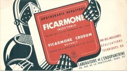 Buvard  Pharmacie - Laboratoires De L'Endopancrine Paris - FIRCAMONE   20x12CM - Produits Pharmaceutiques