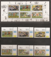 AFRICA DEL SUR 1992 - Yvert #766/71+H29 - MNH ** - Blocs-feuillets