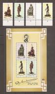 AFRICA DEL SUR 1992 - Yvert #772/75+H30 - MNH ** - Hojas Bloque