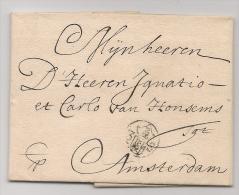 NETHERLANDS - 1709 AMSTERDAM VF COMPLETE ENTIRE - Nederland