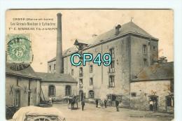 Bf - 49 - CANDE - Les Grands Moulins à Cylindres - E. ROUSSEAU Fils Et GALPIN  - RARE DOCUMENT - Cliché Vasselier - France