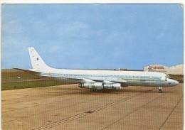 Carte Postale Aviation Militaire - Douglas D.C. 8F En Service Dans L'Armée De L'Air Depuis 1966 - 1946-....: Moderne