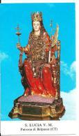 S. LUCIA V.M. - BELPASSO (CT) - Mm. 65X110 - M - PR - Religione & Esoterismo