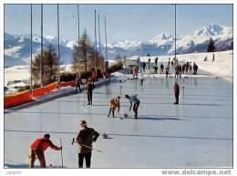 Crans Sur Sierre - Le Curling - Editeur: Perrochet - VS Valais