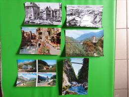 Lot De Carte-annecy-le Col De La Clombiere-aix Les Bains-pont De L'abime-vieille Voiture 2 Cv Etc.. - 5 - 99 Cartoline