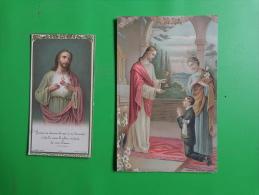 Lot Images Pieuses-bouasse Jeune 1539- Et Cr 130-abbaye De Pradines N°39- - Religion & Esotericism