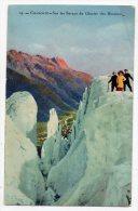 Cpa - Chamonix - Sur Les Séracs Du Glacier Des Bossons - Chamonix-Mont-Blanc
