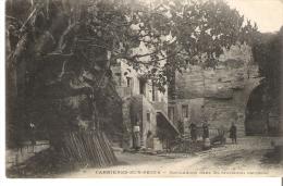 CPA 78 CARRIERES SUR SEINE , Habitations Dans Les Anciennes Carrières - Carrières-sur-Seine