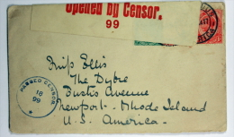 South Afica, Cover Censor Pened, Mixed Stamps, 1917 ? - Cartas