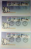 Australia, AAT, 1988 FDC  , Set Of 5 Michel 79-83 - FDC