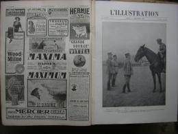 L'ILLUSTRATION 3903 Italie/ DIVISION SAUVAGE/ JERUSALEM/ CONSEILS DE GUERRE/ ARMEE RUSSE/ Portugal   22 Décembre 1917 Co - Journaux - Quotidiens