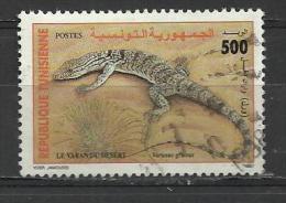 TUNESIA 1997 - REPTILES 500 - USED OBLITERE GESTEMPELT USADO - Reptiles & Batraciens