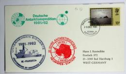 Germany Deutsche Antaktisstationen Falkland Stamp MS Polarqueen