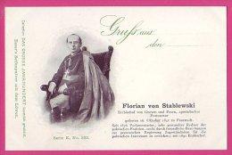 PC5976 UB Postcard: DGJ Archbishop Florian Von Stablewski - Famous People