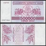 Georgia P 51 - 500000 500.000 Laris 1994 - UNC - Georgia