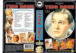 K7 VHS - TINO ROSSI - SES PLUS BELLES CHANSONS - RENE CHATEAU VIDEO - NOIR ET BLANC 60 MNS - 18 CHANSONS - Konzerte & Musik