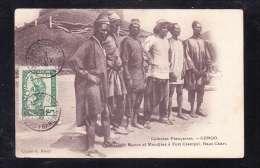 AFR2-78 CHEFS MGAOS ET MANDJIAS A FORT CRAMPEL HAUT CHARI FR.CONGO - Congo Francese - Altri