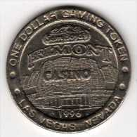 Slot Machine Gaming Token : Sam Boyd's Fremont Casino Las Vegas $1 1996 - Casino