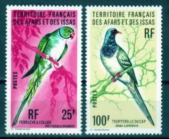 Afar & Issa  Vögel 1976 Mi.-Nr. 157 - 158 ** Mnh - Dschibuti (1977-...)