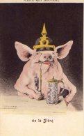 CPA:  Illustrateur  ISPINARY :  Ceux Qui Boivent De La Bière.     (9394) - Humorísticas
