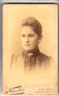 CDV - Lady - Photographer Naudin & Co., London - Antiche (ante 1900)
