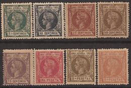 GUI01-L2728.Guinea.Guinee .GUINEA  ESPAÑOLA .Alfonso Xlll.1902 (Ed 1/8**) Sin Charnela.RARA - Guinea Española