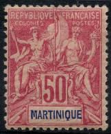 Martinique (1892) N 41 * (charniere)