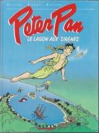 """PETER PAN  """" LE LAGON AUX SIRENES """" -  DANNARD / PIERRE / RIVIERE - E.O.  AOUT 1990  ALPEN - Peter Pan"""