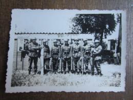 PHOTO MILITARIA (M39)  Photo De Militaires (2 Vues) B - Autres
