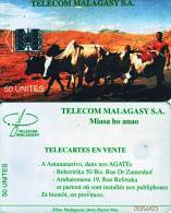 ***Télécarte De MADAGASCAR  Miasa Ho Anao  50Units Vide  TTB  A Saisir *** - Madagaskar
