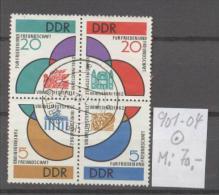 DDR  Gest  901-904 Zusammendruck - DDR