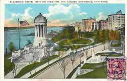 Mai13 815 : New York  -  Riverside Drive  -  Soldiers And Sailors Monument - Etats-Unis