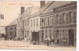Aubenton - Place De L'Eglise -  - Cpa - Non Classés