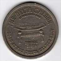 Slot Machine Gaming Token : Casino The Delta Saloon Virginia City Nevada $1 1979 - Casino