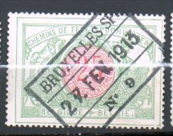 CF 31 Oblitération BRUXELLES SP N°9 - 1895-1913