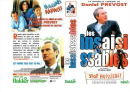 K7 VHS - LES INSAISISSABLES - STOP HUISSIERS - CHRISTIAN GION - DANIEL PREVOST - - Comedy