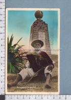 S3993 COLOMBIA MONUMENTO ECUATORIAL OLD MAN SMOKE VG FP - Colombia