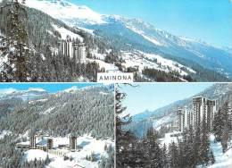 Suisse-VS Valais-(CRANS MONTANA-Sierre) La Station Moderne D´AMINONA -Multi Vues (a)( Editions:Darbellay 50531) - VS Valais