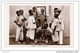 ETHNOGRAPHIE  AFRICAINE  /  GABON  /  LECON  DE  CALCUL  ( Enfants Africains Et Boulier Chinois ! ) - Gabon