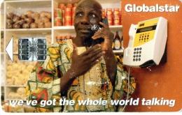****** TELECARTE AFRIQUE  Globalstar ******  CARTE COMMUNICATIONS SATELLITE