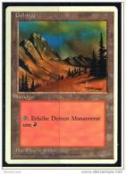 Karte Magic The Gathering  -  Land  -  Gebirge  -  Deutsch - Magic The Gathering