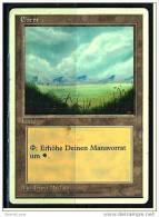 Karte Magic The Gathering  -  Land  -  Ebene  -  Deutsch - Magic The Gathering
