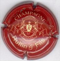 CAPSULE-CHAMPAGNE RUFIN & Fils N°17 Bordeaux Clair & Crème - Champagne
