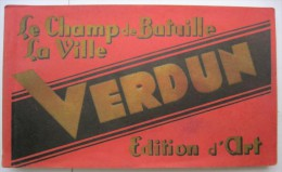 Carnet Album Souvenir : Verdun - Le Champ De Bataille - La Ville - 18 Vues - Ed. ML - Verdun
