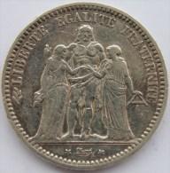 5 Francs Hercule 1871 K - France