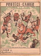 Chasse Au Lion Chez Les Negres - Protège-cahiers