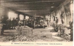 71 - PERRECY LES FORGES,  FABRIQUE DE CHAISES - ATELIER DES REPARATIONS
