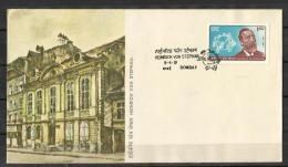INDIA, 1981, FDC,Heinrich Von Stephan (Founder Of U.P.U.) - 150th Birth Anniversary,  Bombay Cancellation - India