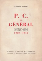 PC Du Général Bernard Barret Guisan Suisse Guerre Armée Militaires - Books, Magazines, Comics